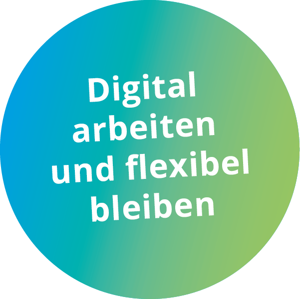 Digital arbeiten - Button